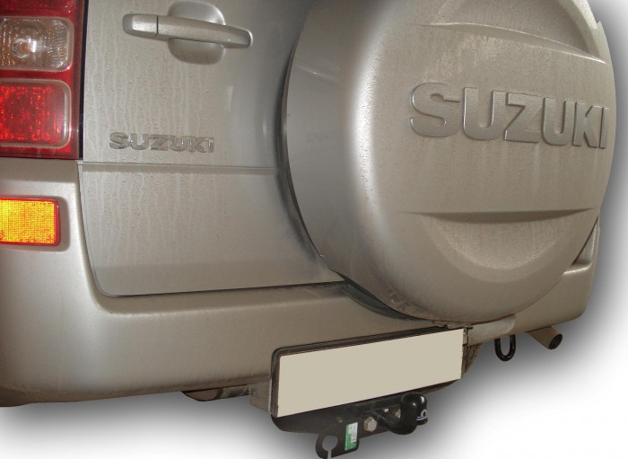 Фаркоп S406-FC для SUZUKI GRAND VITARA (5 дверей) 2005-2016. Leader-Plus